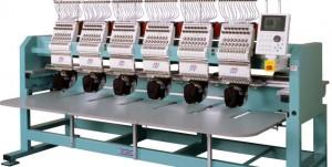 Пятиголовочная вышивальная машина